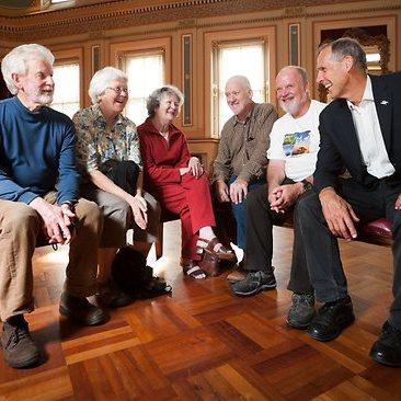 Veterans of the United Tasmania Group and LPRC members