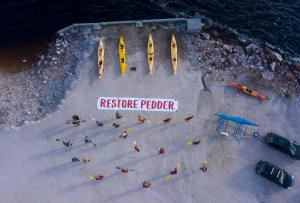 2020 Paddle for Peddler, Rob Blakers